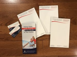 traditional marketing  brochures stationary graphic design